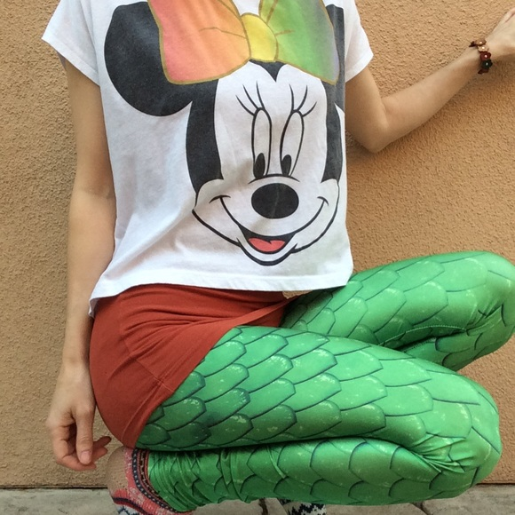 Disney Pants - Mermaid or Disney's Pete's Dragon Costume Leggings